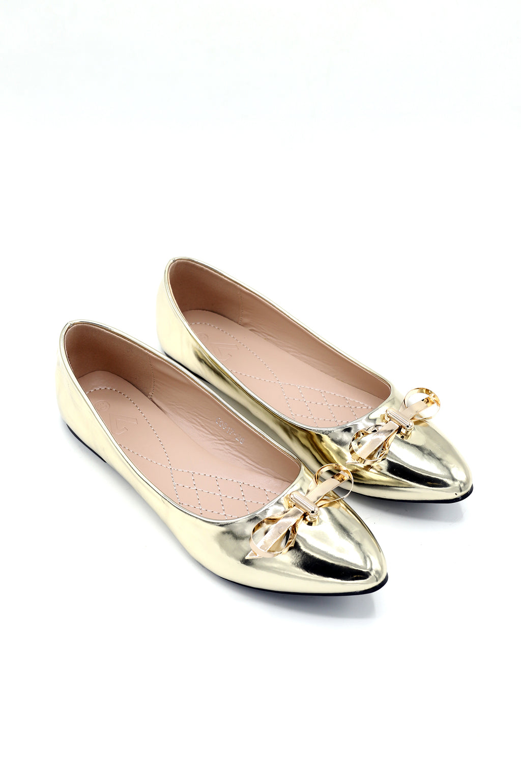 PATENT PUMPS -GOLD