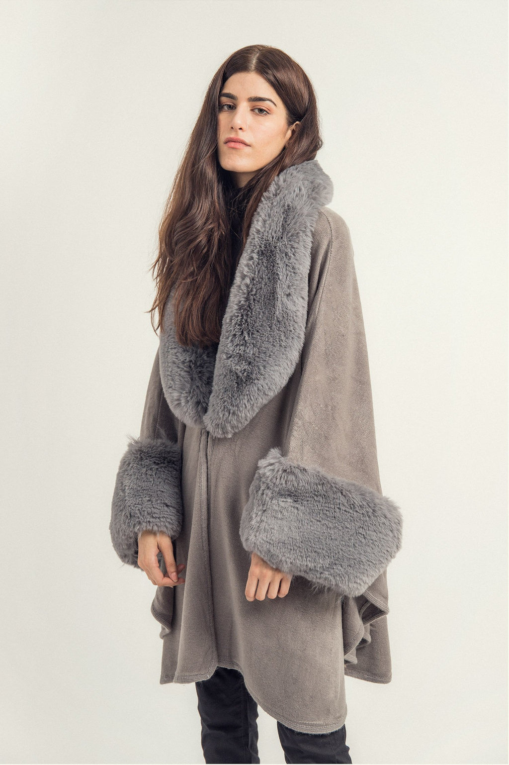 SWING CAPE-GREY