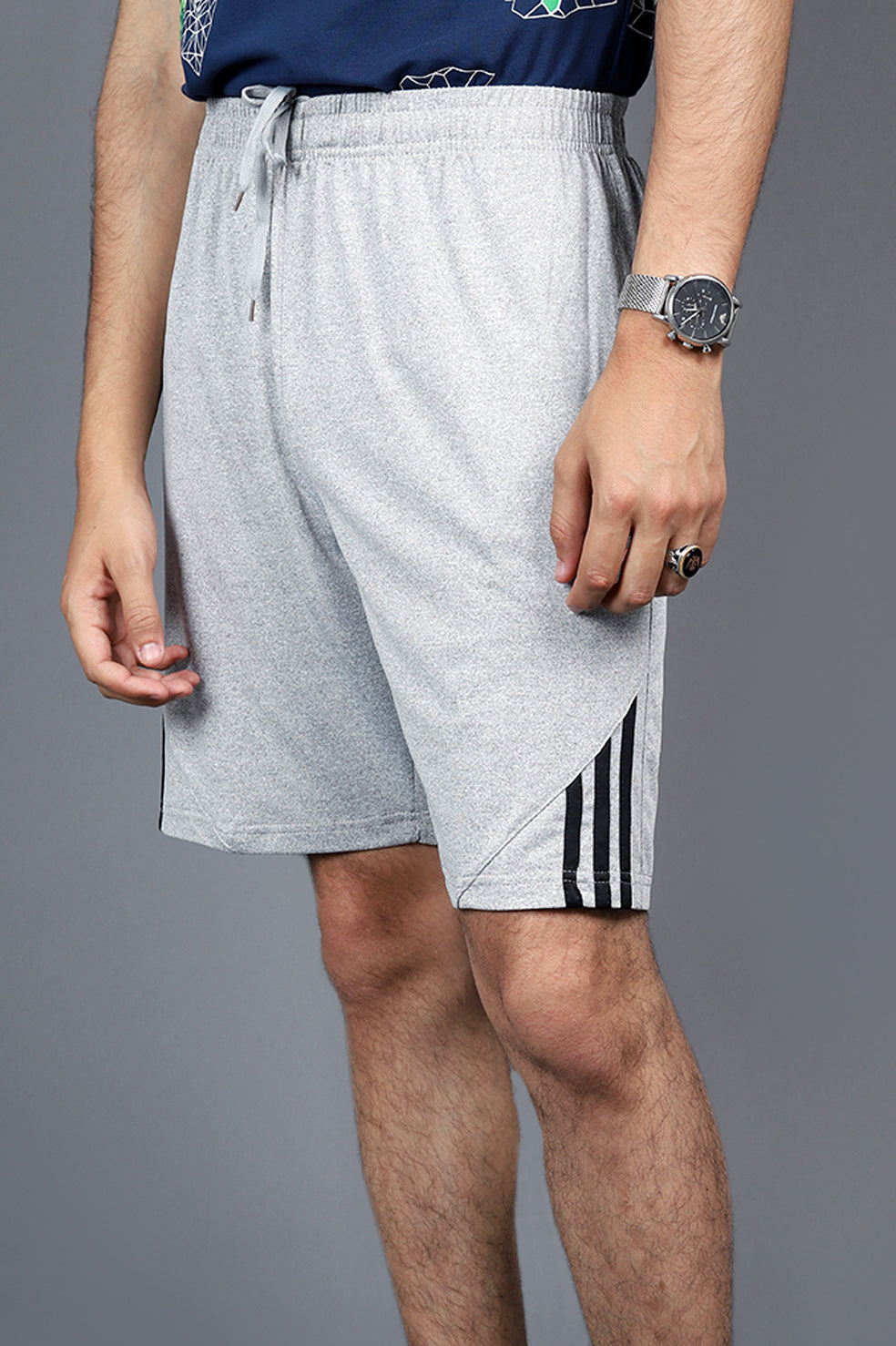 SOCCER SHORTS-GREY
