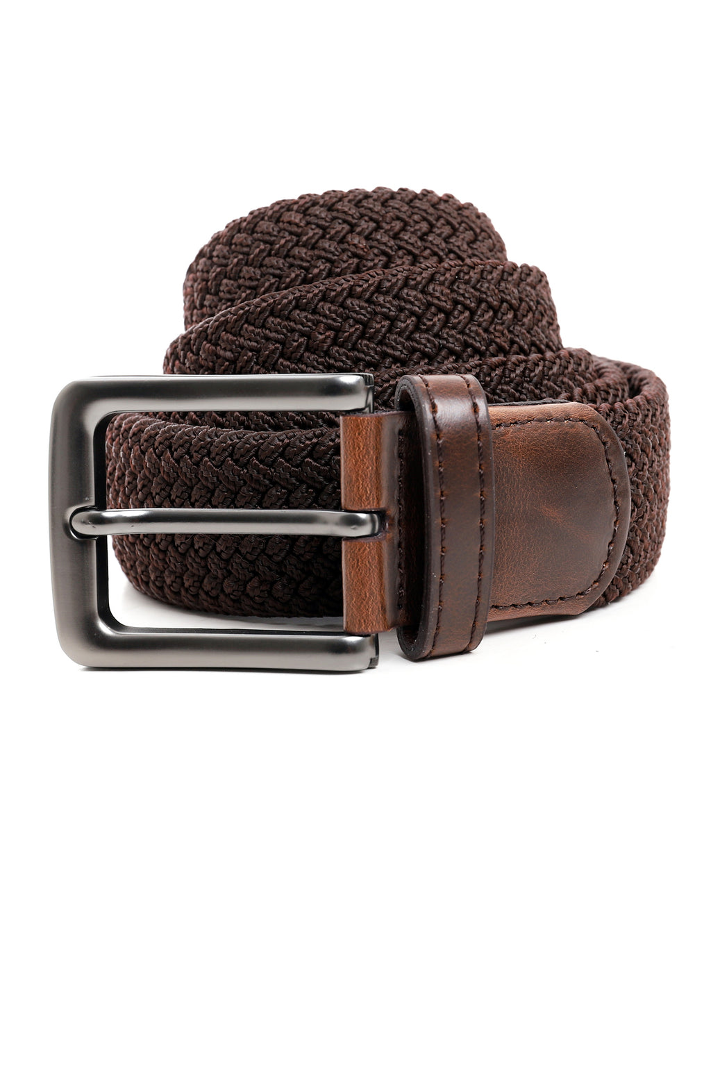 WEAVE BELT-COFFEE