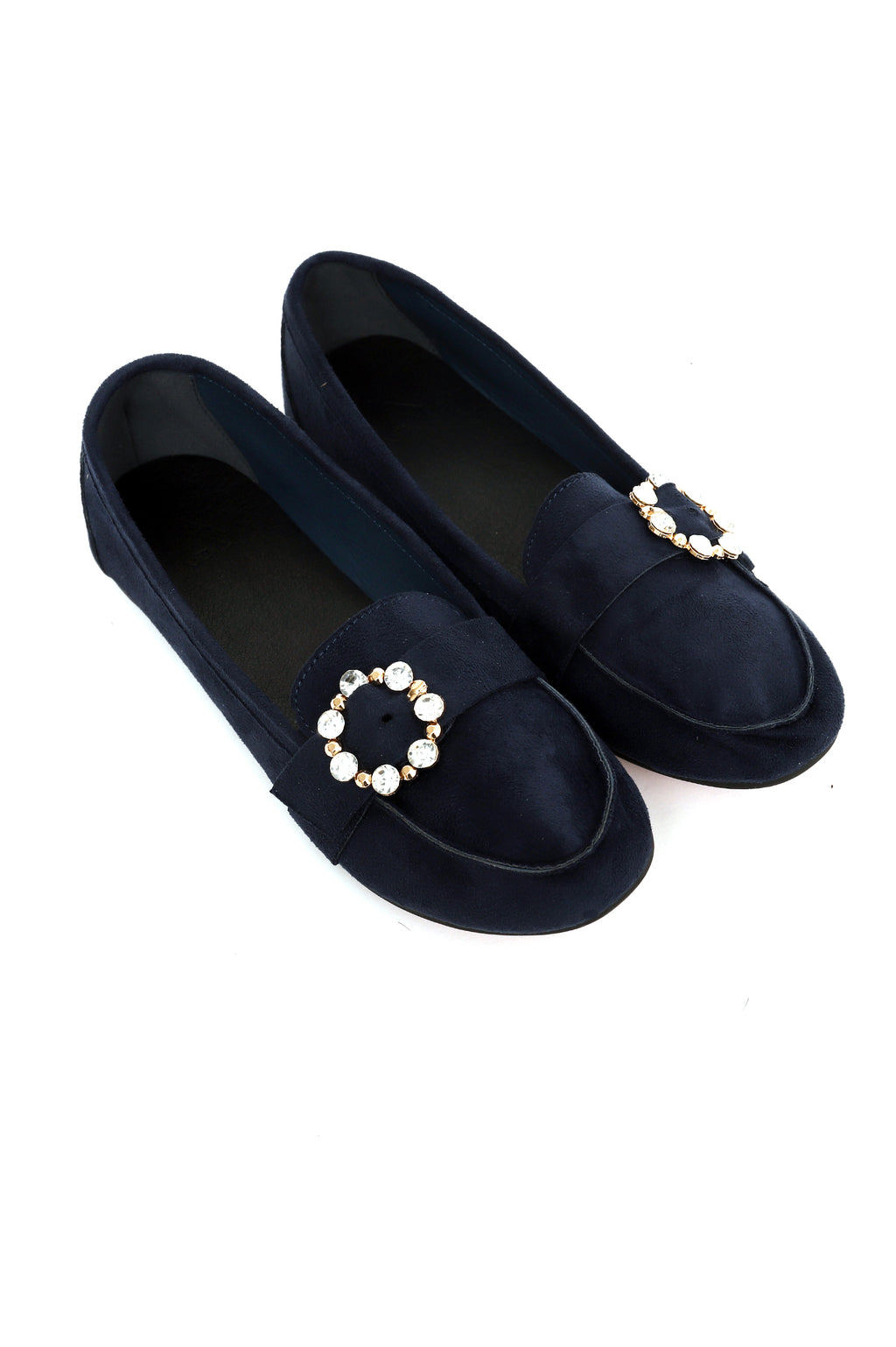 BROCHE LOAFERS -NAVY