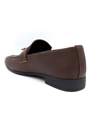 TASSEL LOAFERS-COFFEE