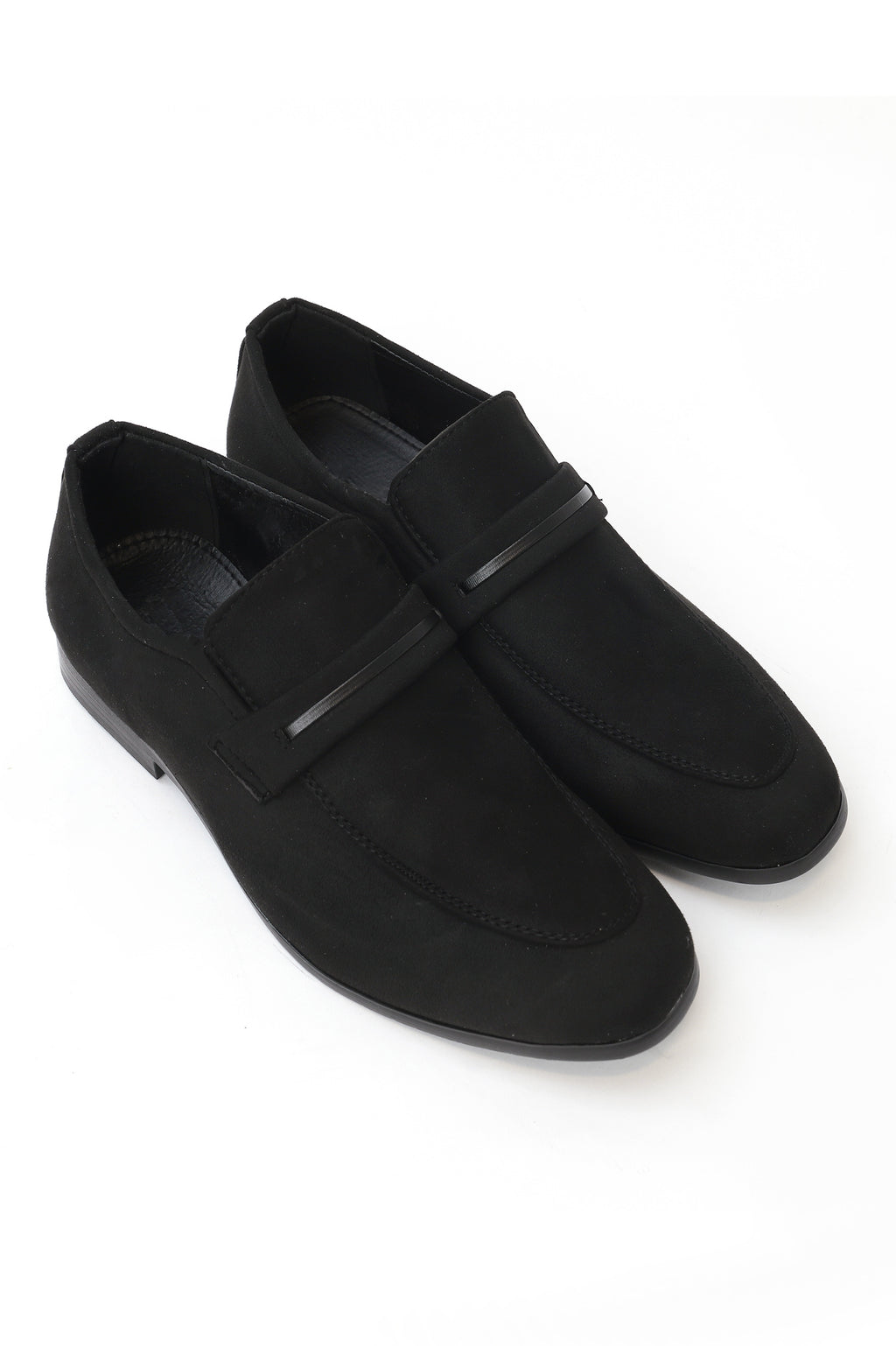 BANDED LOAFERS-BLACK