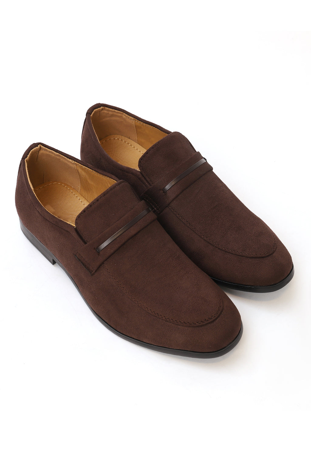BANDED LOAFERS-COFFEE