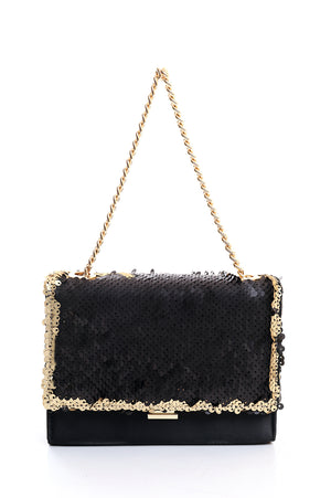 GLITZY PURSE-GOLD
