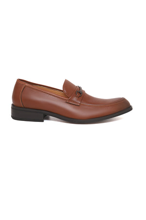 SNAFFLE LOAFERS-BROWN