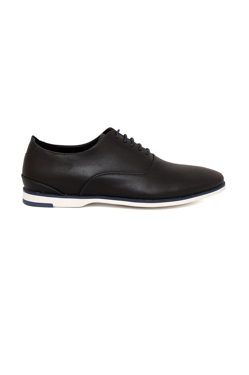 PERFORATED LACE UPS-NAVY