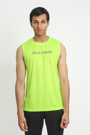 PERFORMANCE VEST-YELLOW