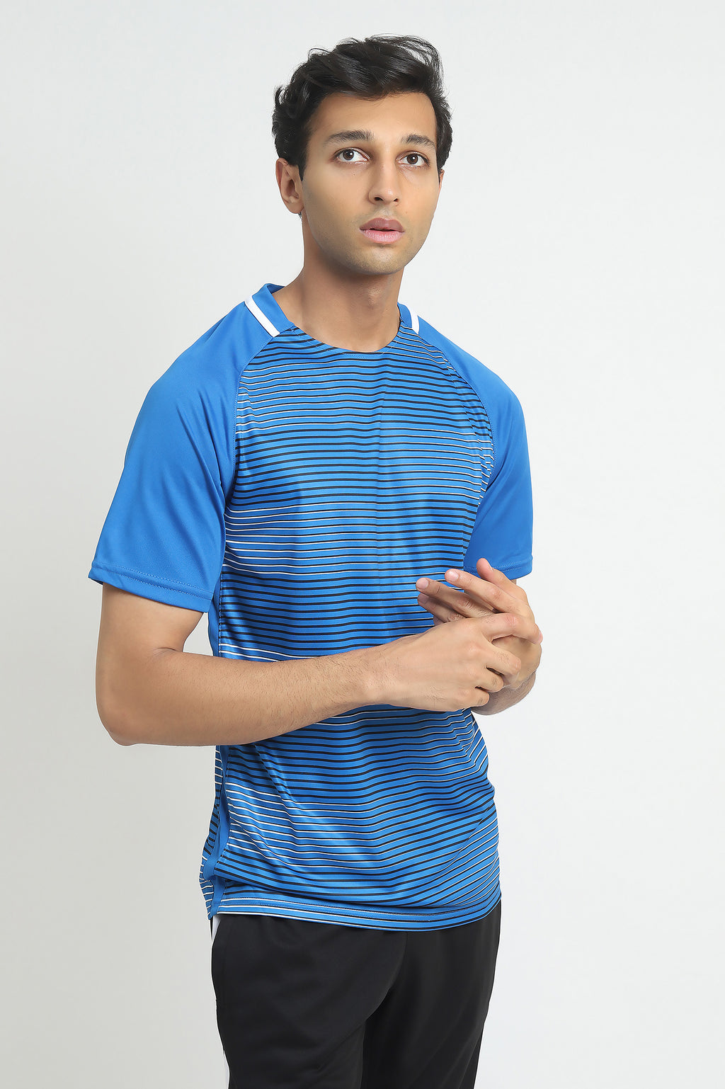 GRADIENT T-SHIRT-BLUE