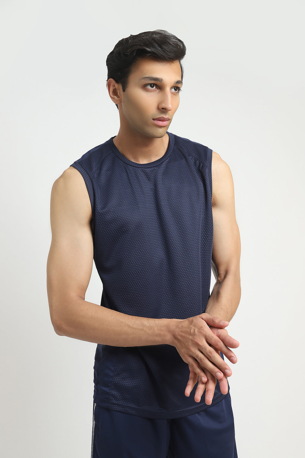ATHLETIC VEST-NAVY