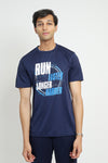 GRAPHIC TEE -NAVY