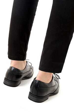 OXFORD SHOES -BLACK