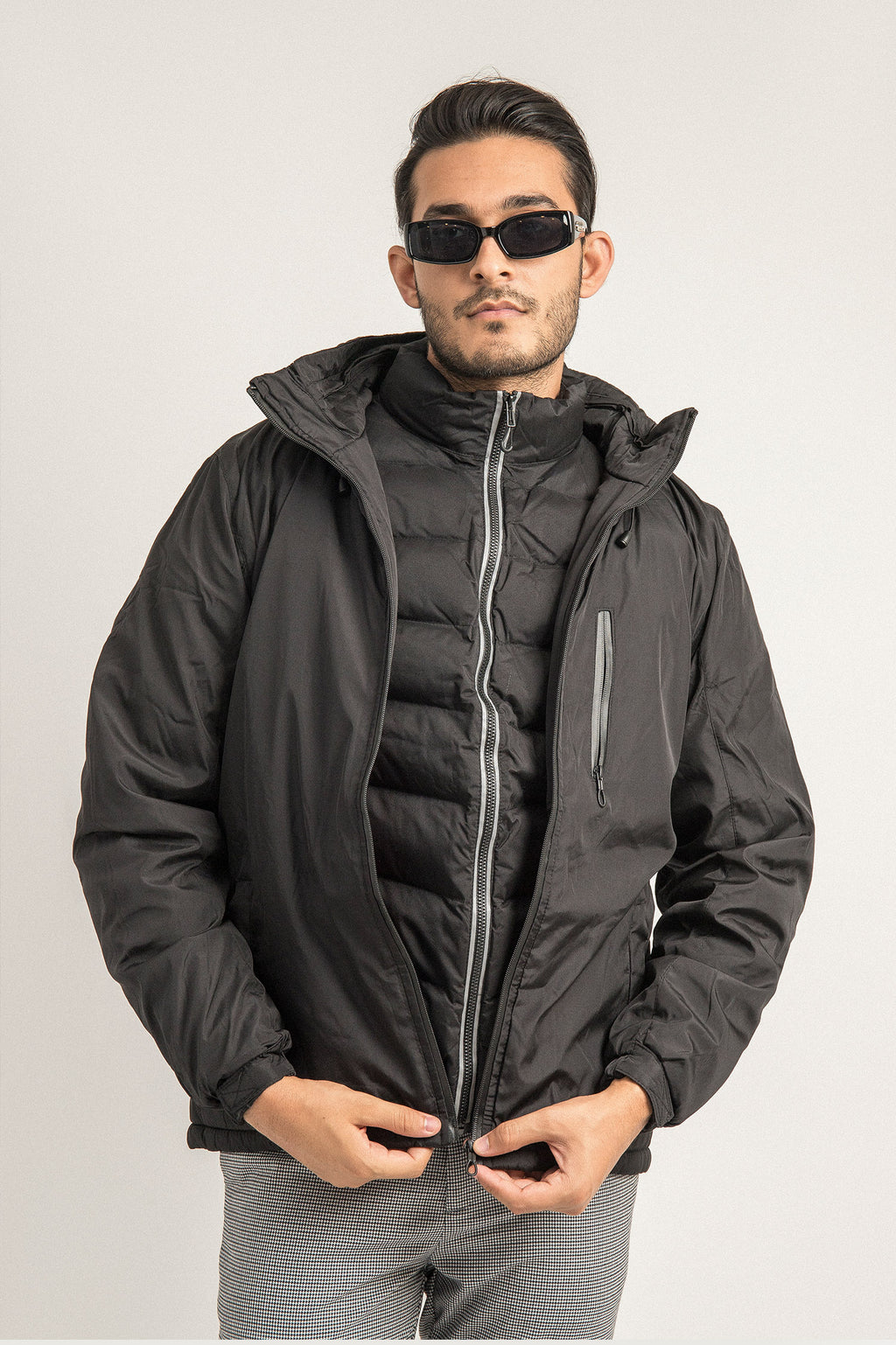 WINTER JACKET-BLACK