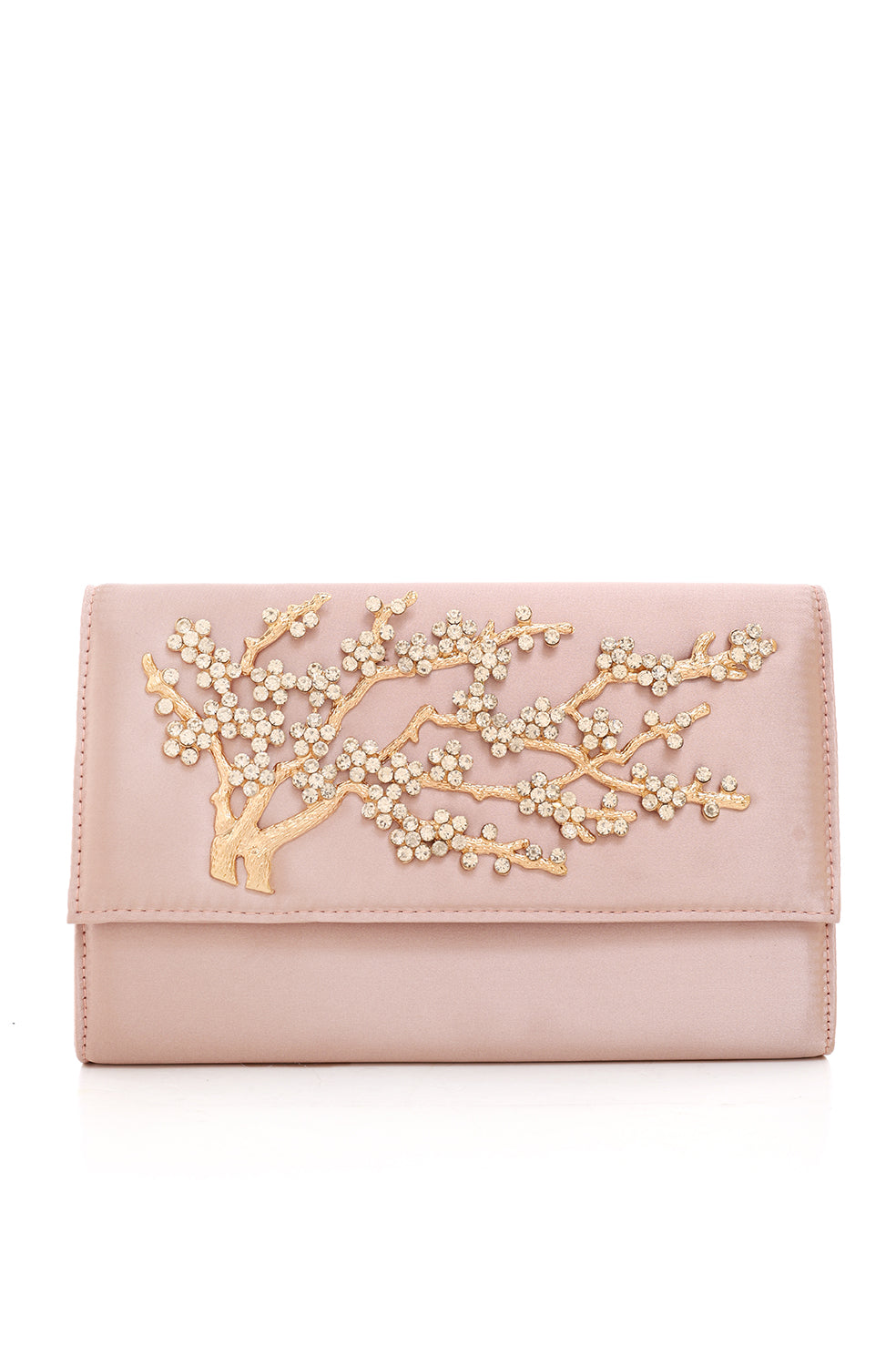 CHERRY BLOSSOM CLUTCH-PINK