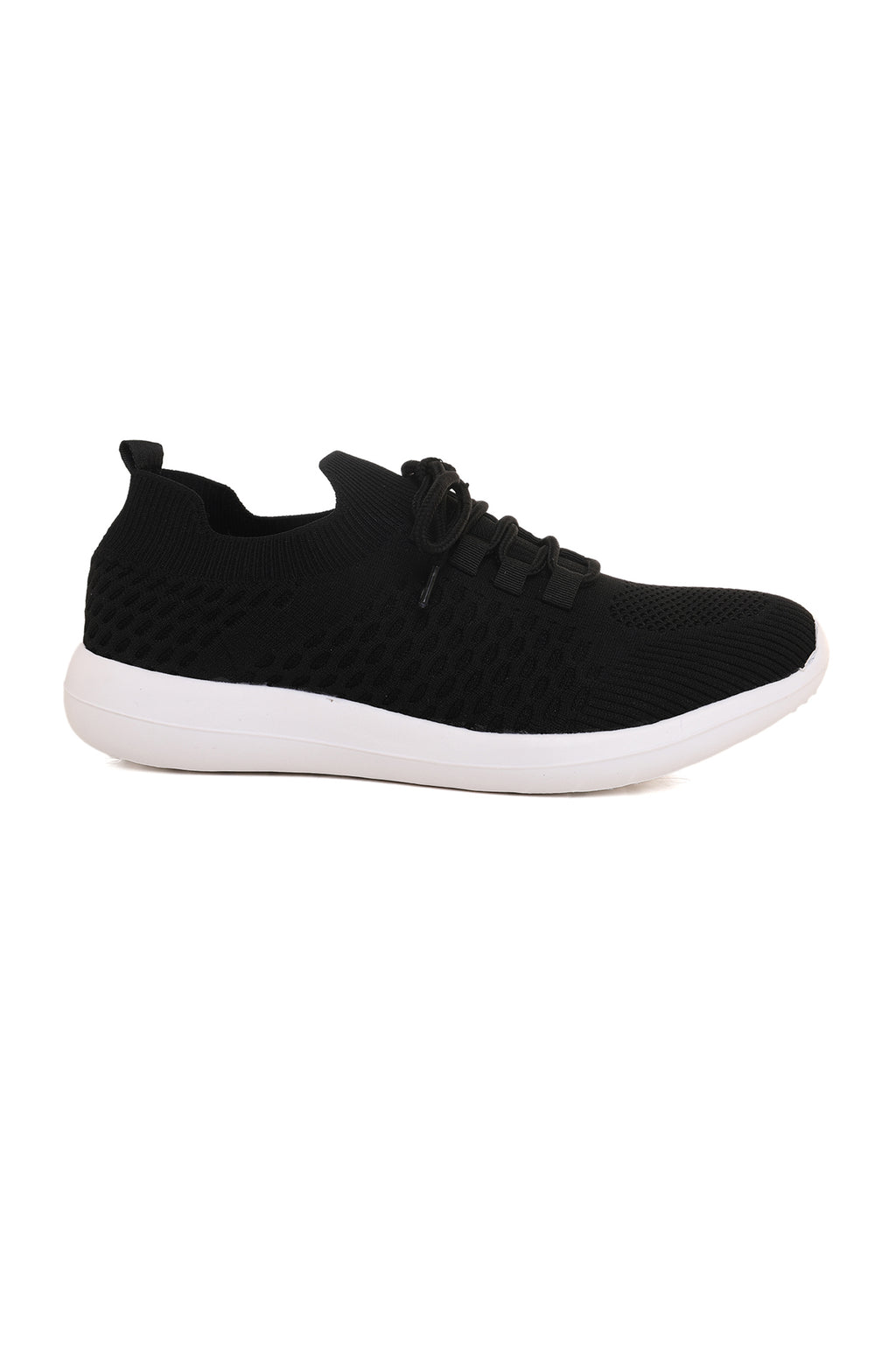FLYKNIT CROSS TRAINERS-BLACK