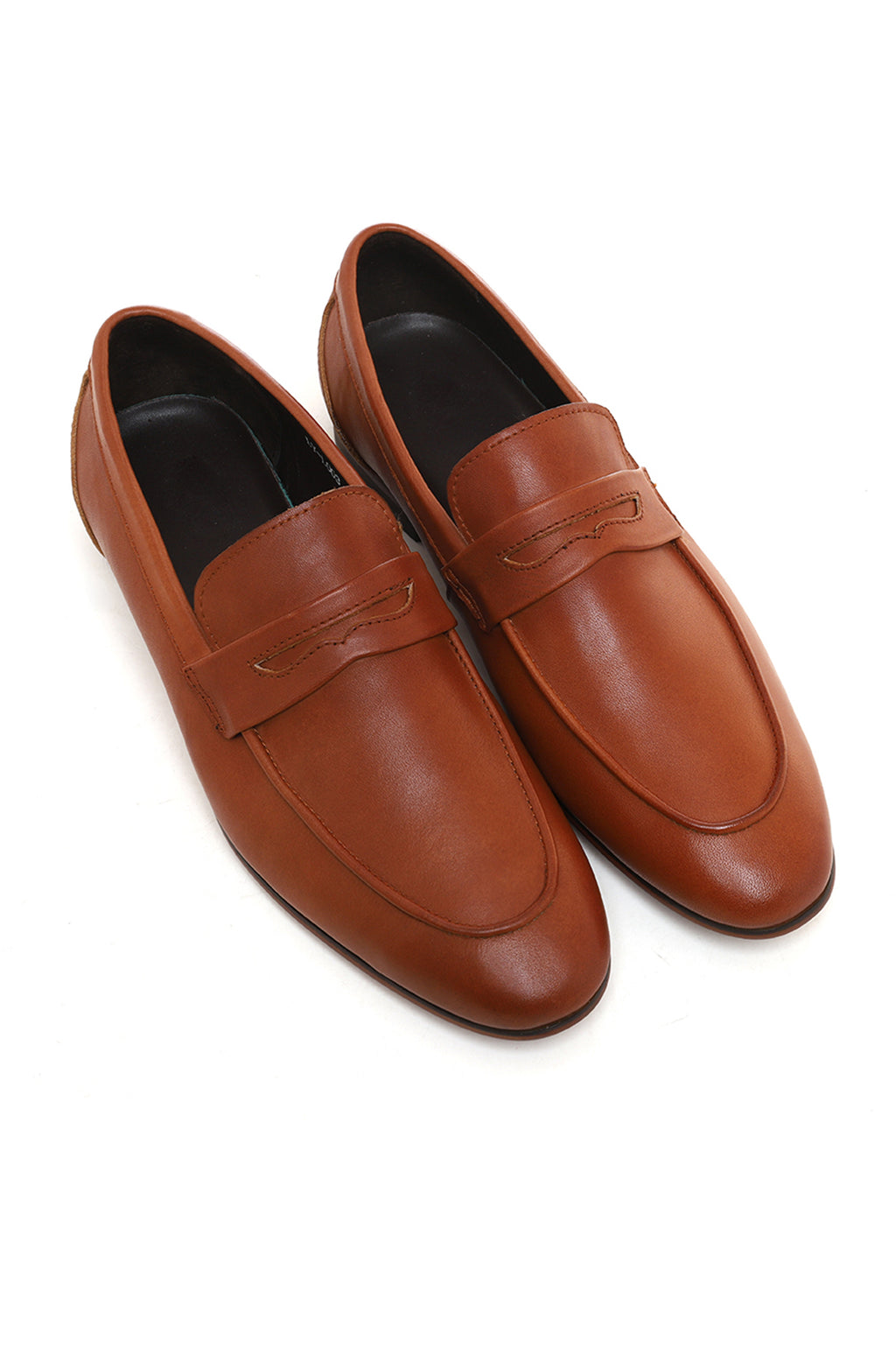 PENNY LOAFERS-BROWN
