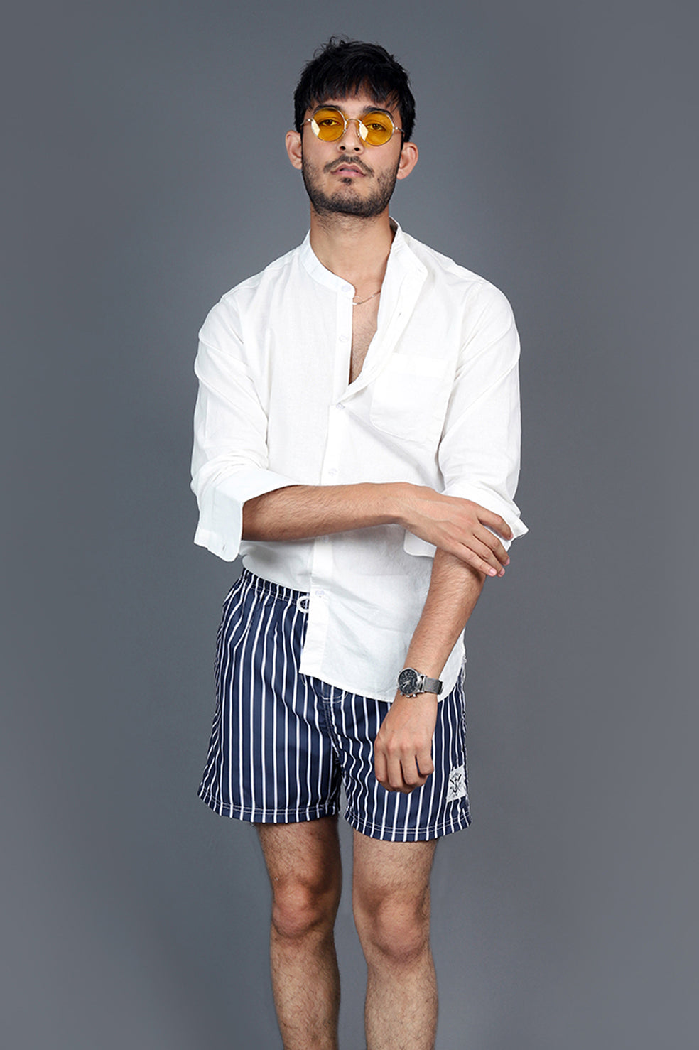 NAUTICAL SHORTS-NAVY