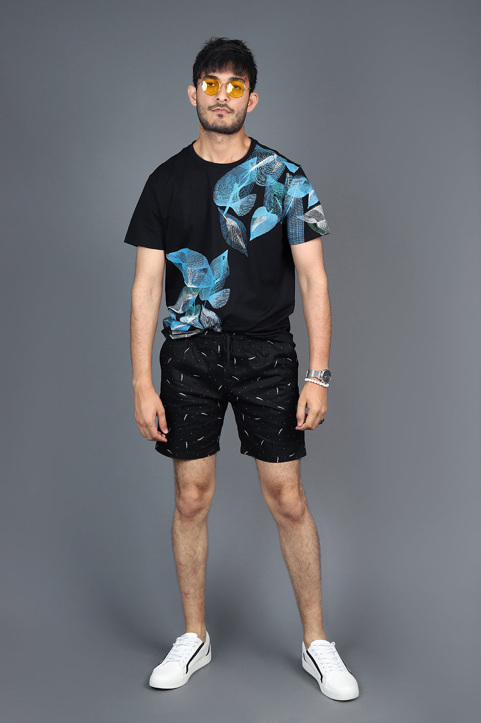BEACH SHORTS-BLACK