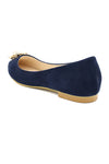 BROOCH PUMPS-NAVY