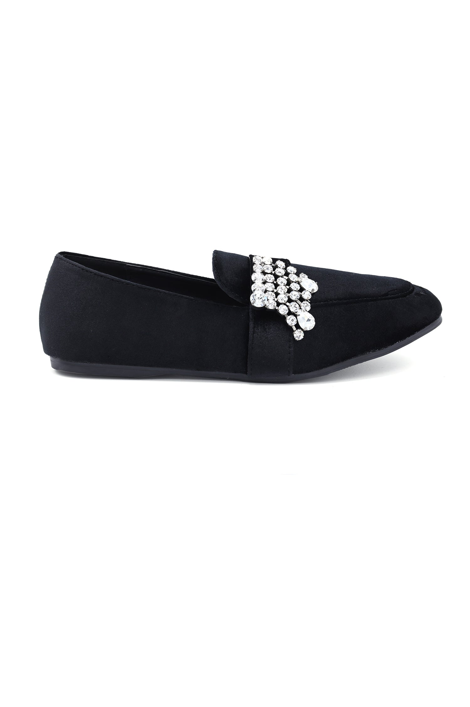 5f2a34c905c DIAMANTE LOAFERS-BLACK – Almas