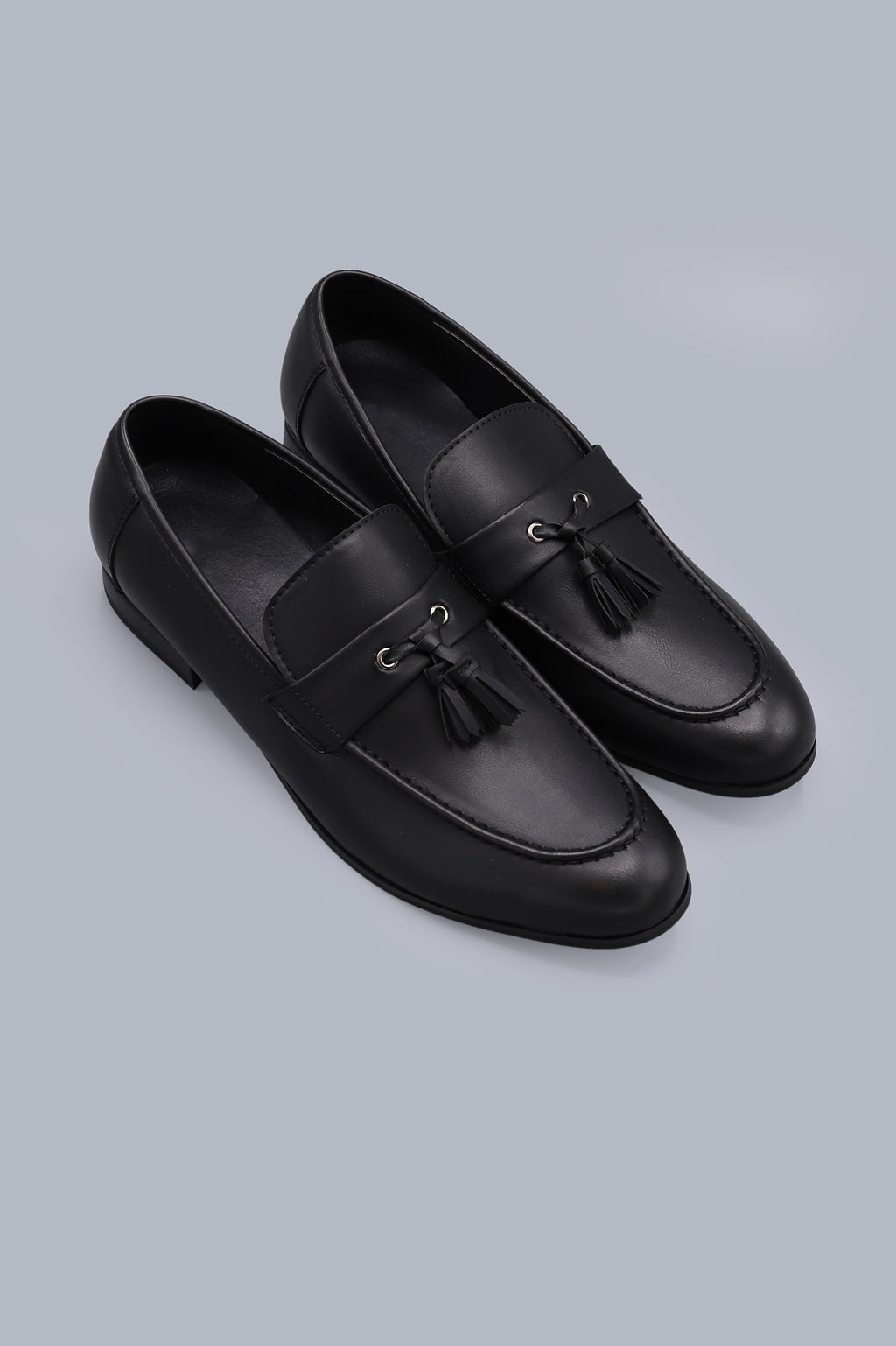 TASSEL LOAFERS-BLACK