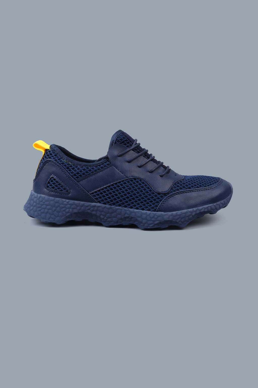 MESH LOW TOPS-NAVY