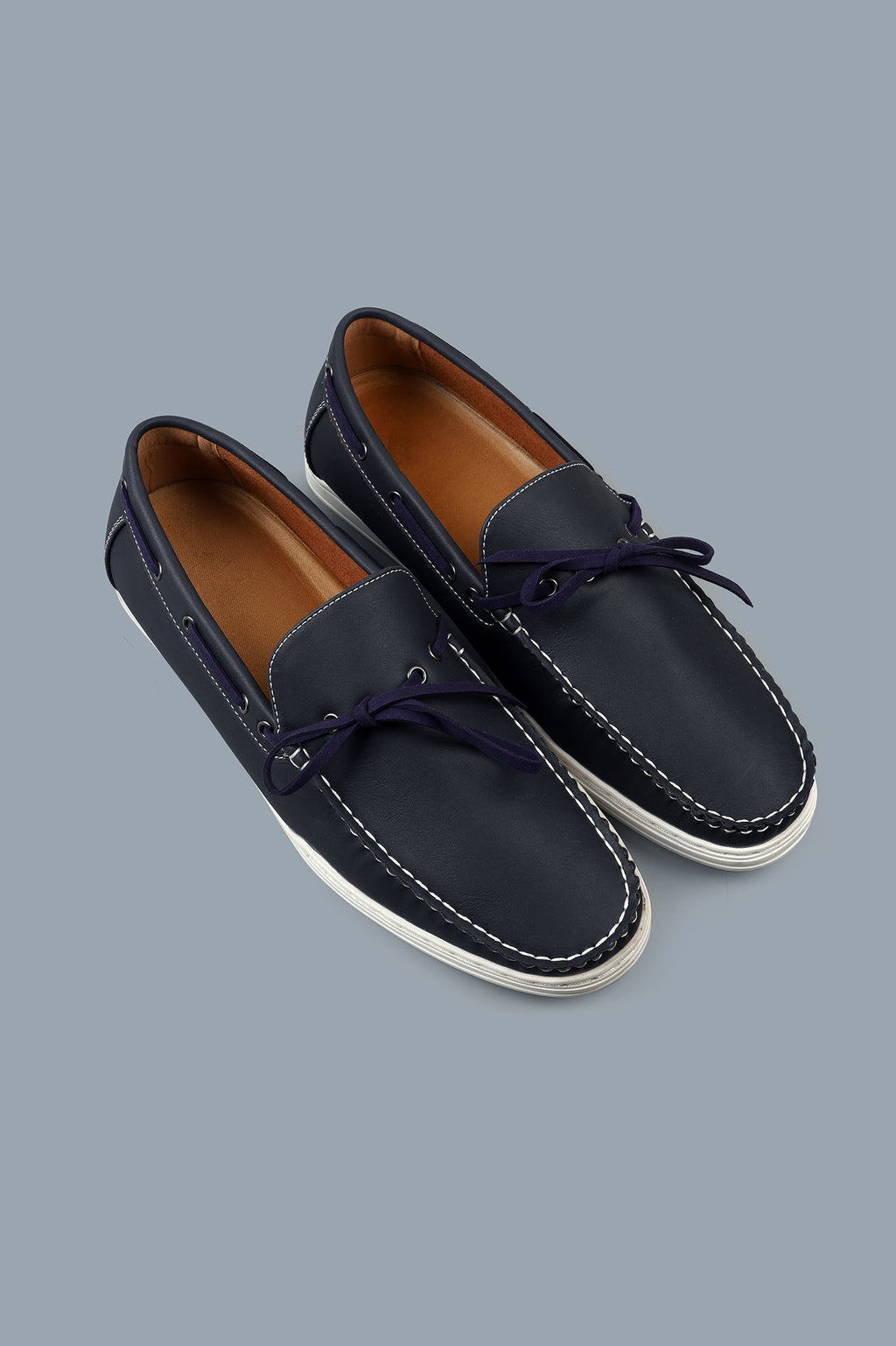 BOAT SHOES-NAVY