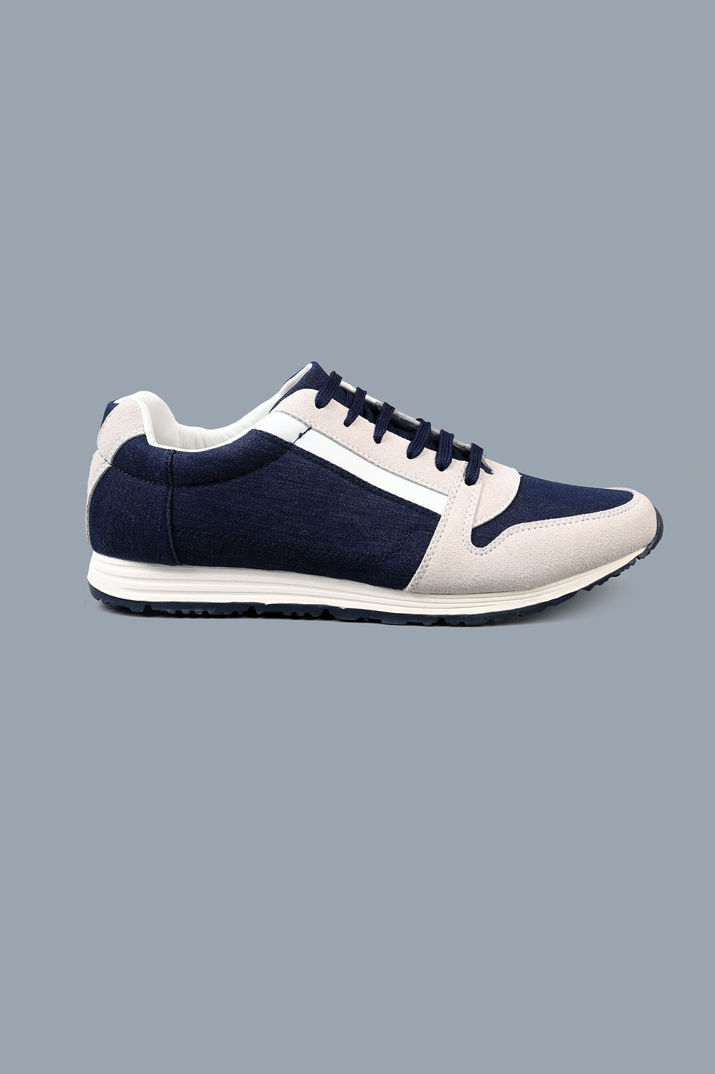 DENIM TRAINERS-NAVY