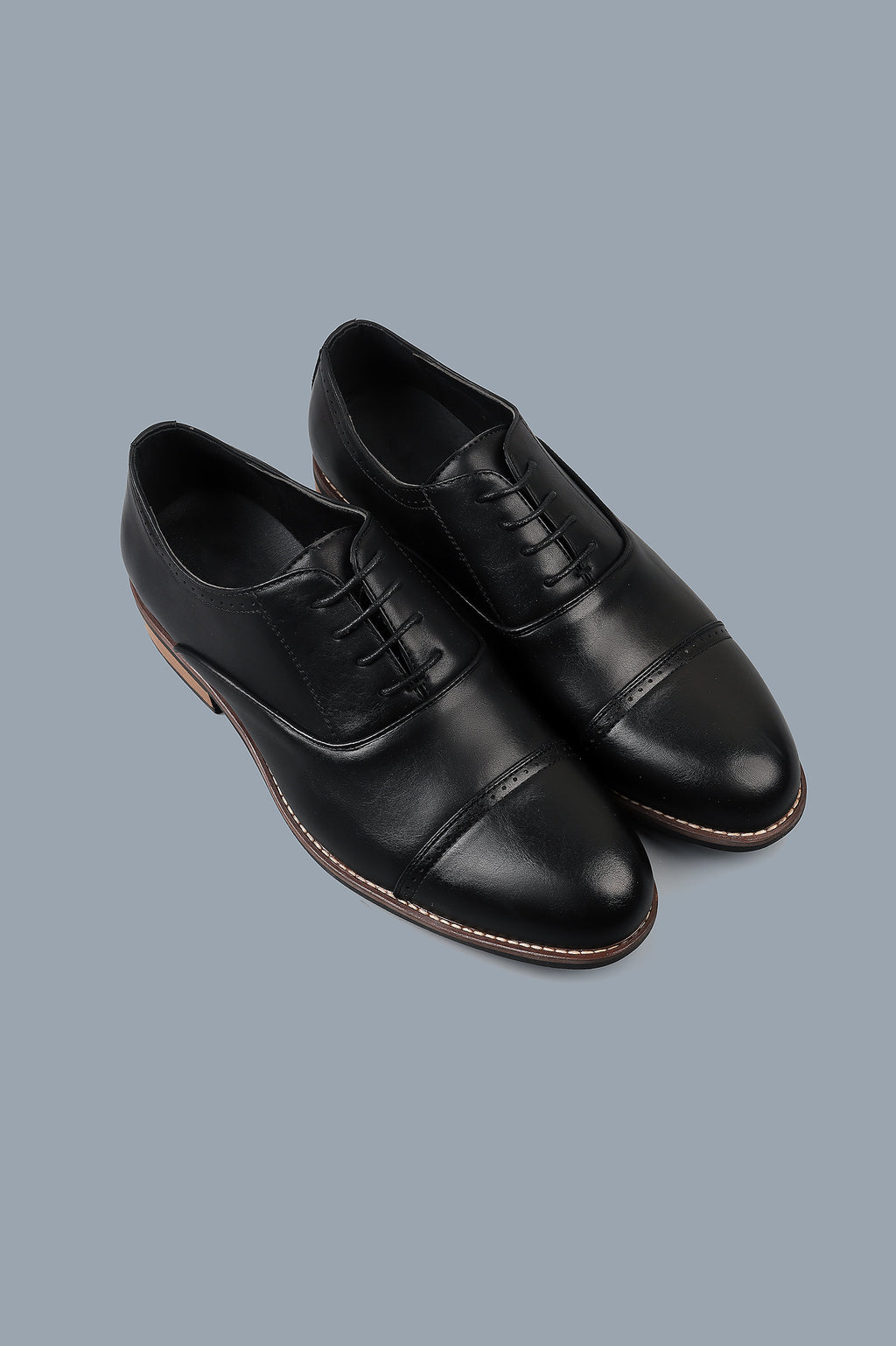 OXFORD LACE-UPS-BLACK
