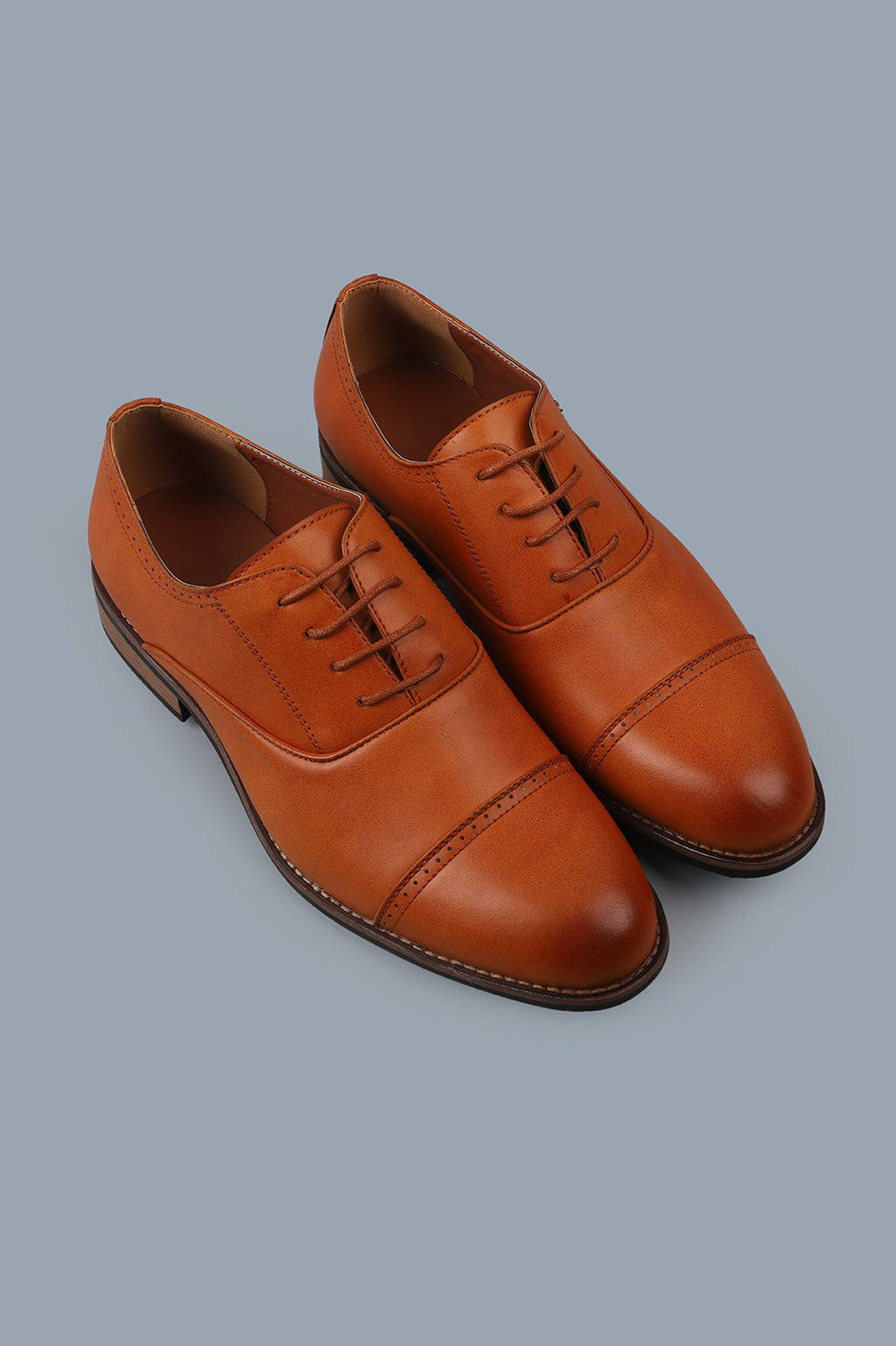 OXFORD LACE-UPS-TAN