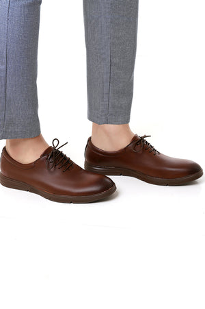 GOLFING SHOES-BROWN
