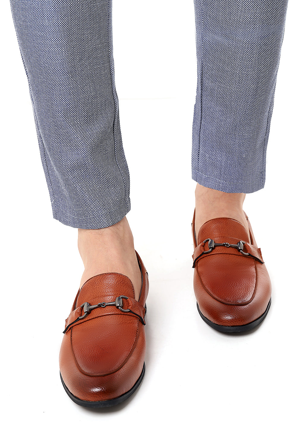 HORSEBIT LOAFERS-BROWN