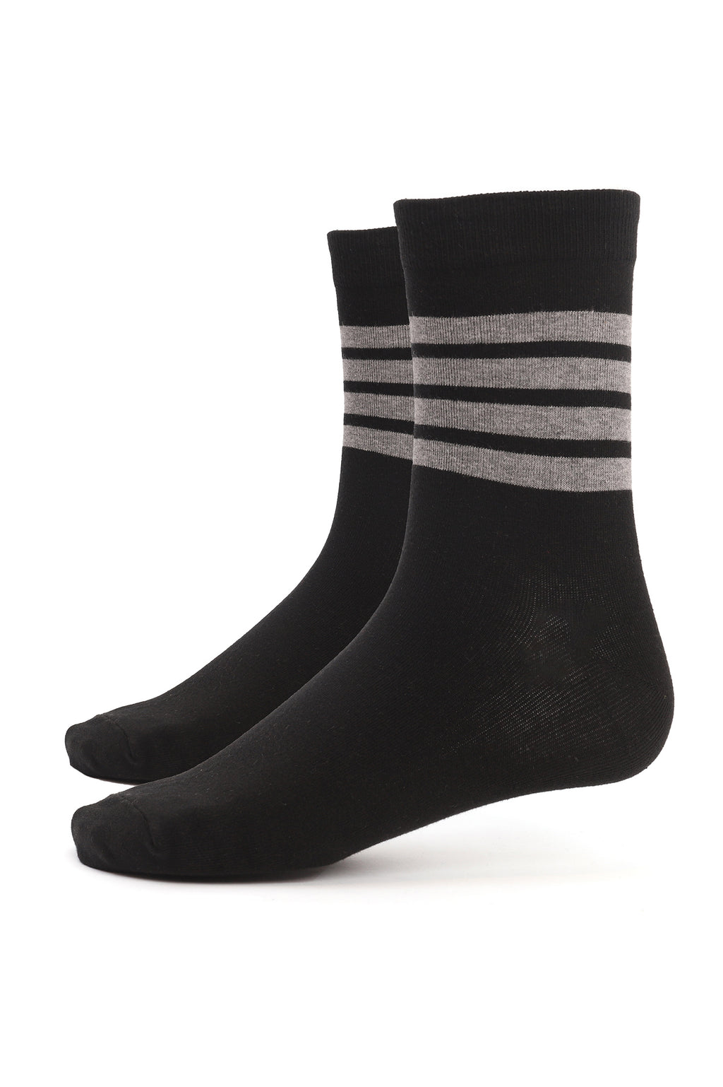 LITE SOCKS -BLACK-GREY