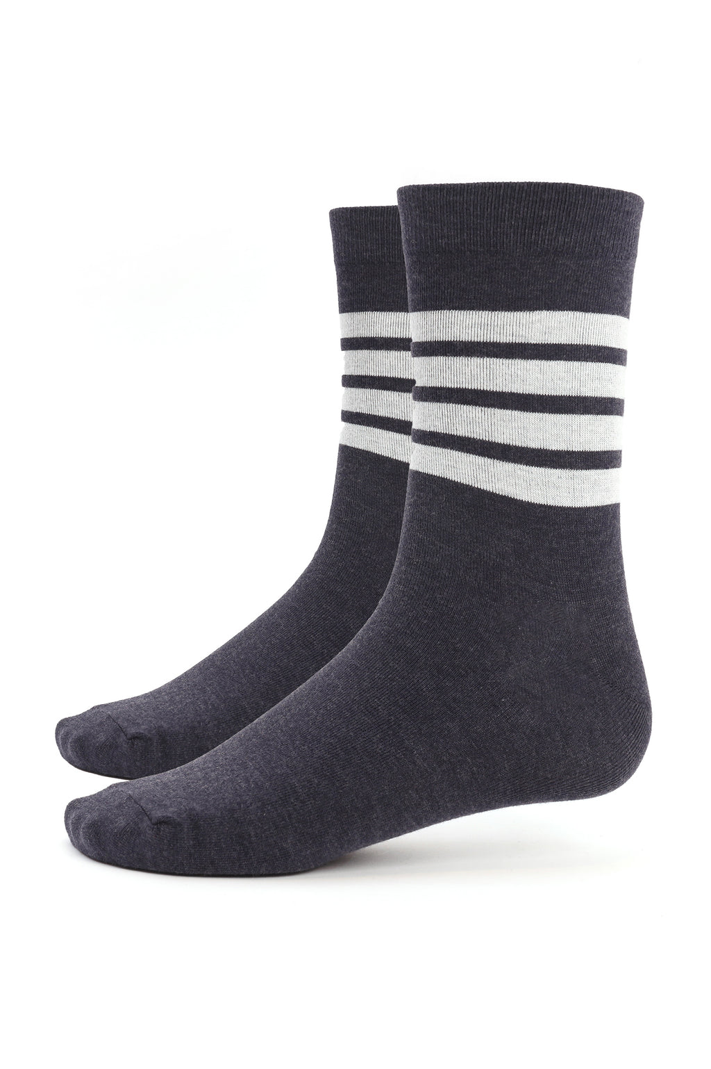 LITE SOCKS -GREY-WHITE