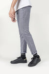 DOTTED PANT-LIGHT BLUE