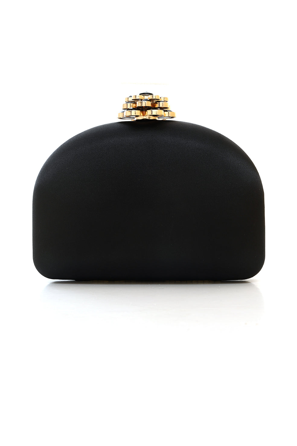 LUXE CLUTCH-BLACK