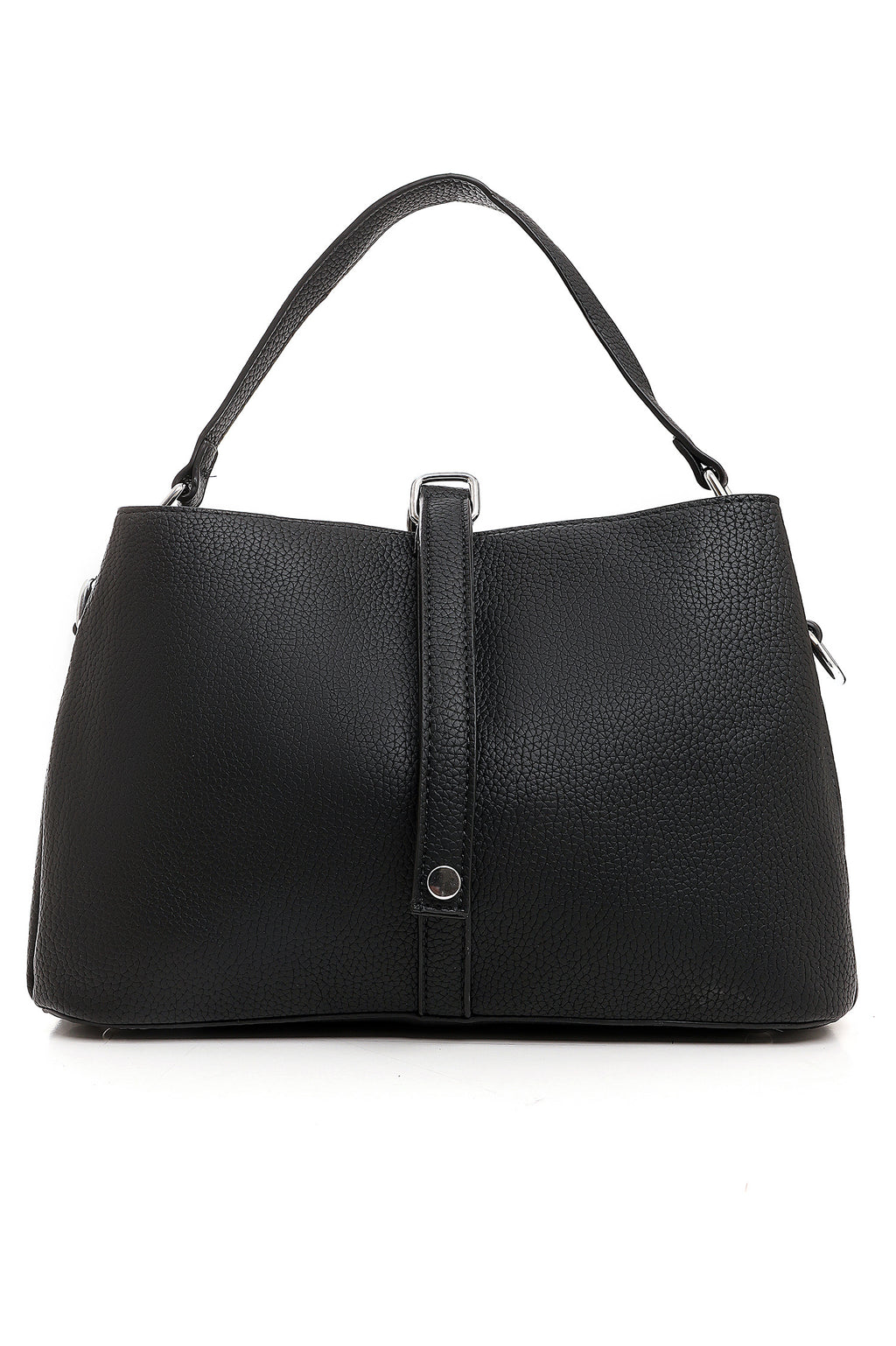 SATCHEL BAG-BLACK