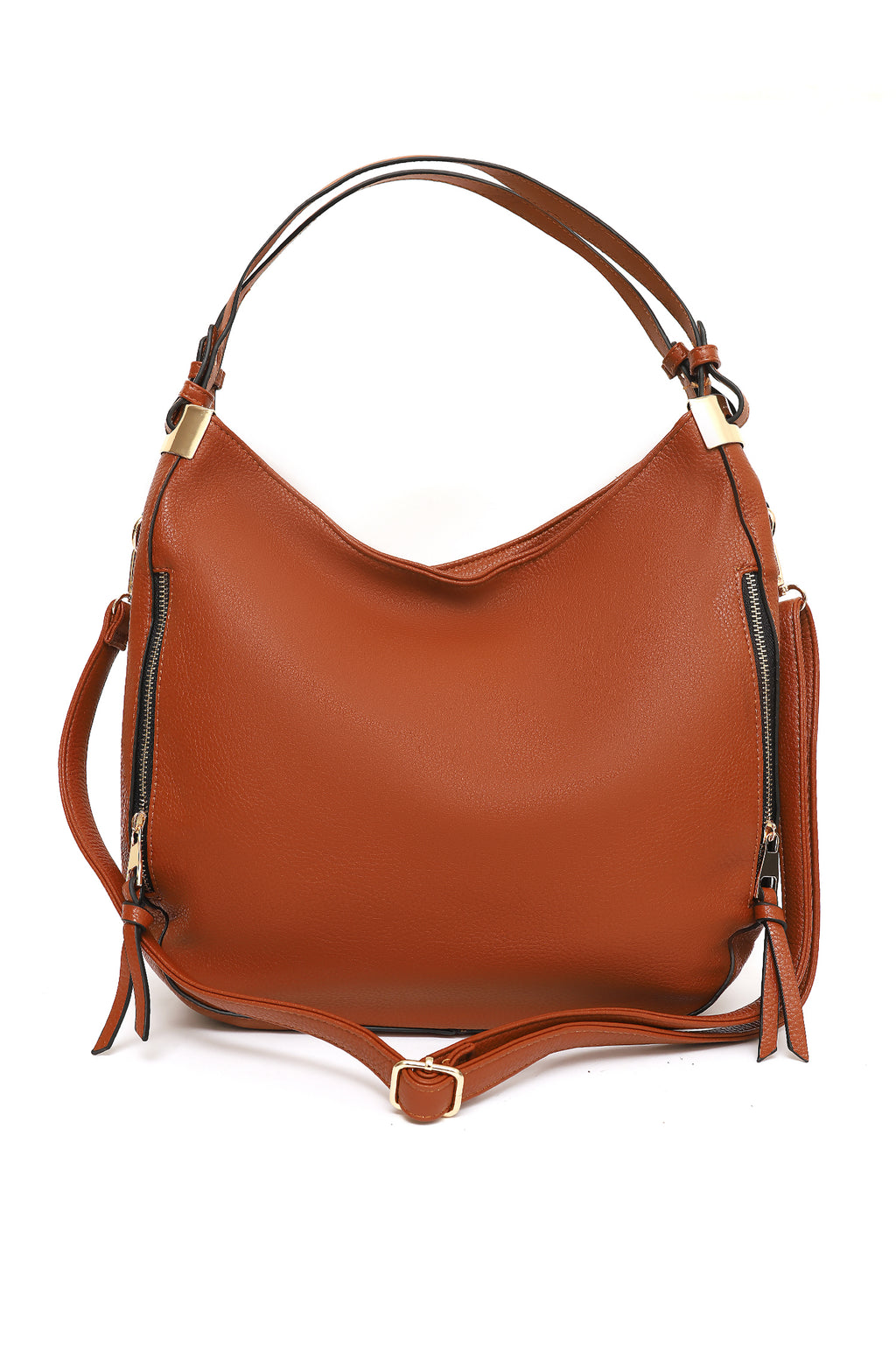 SOHO HANDBAG-BROWN