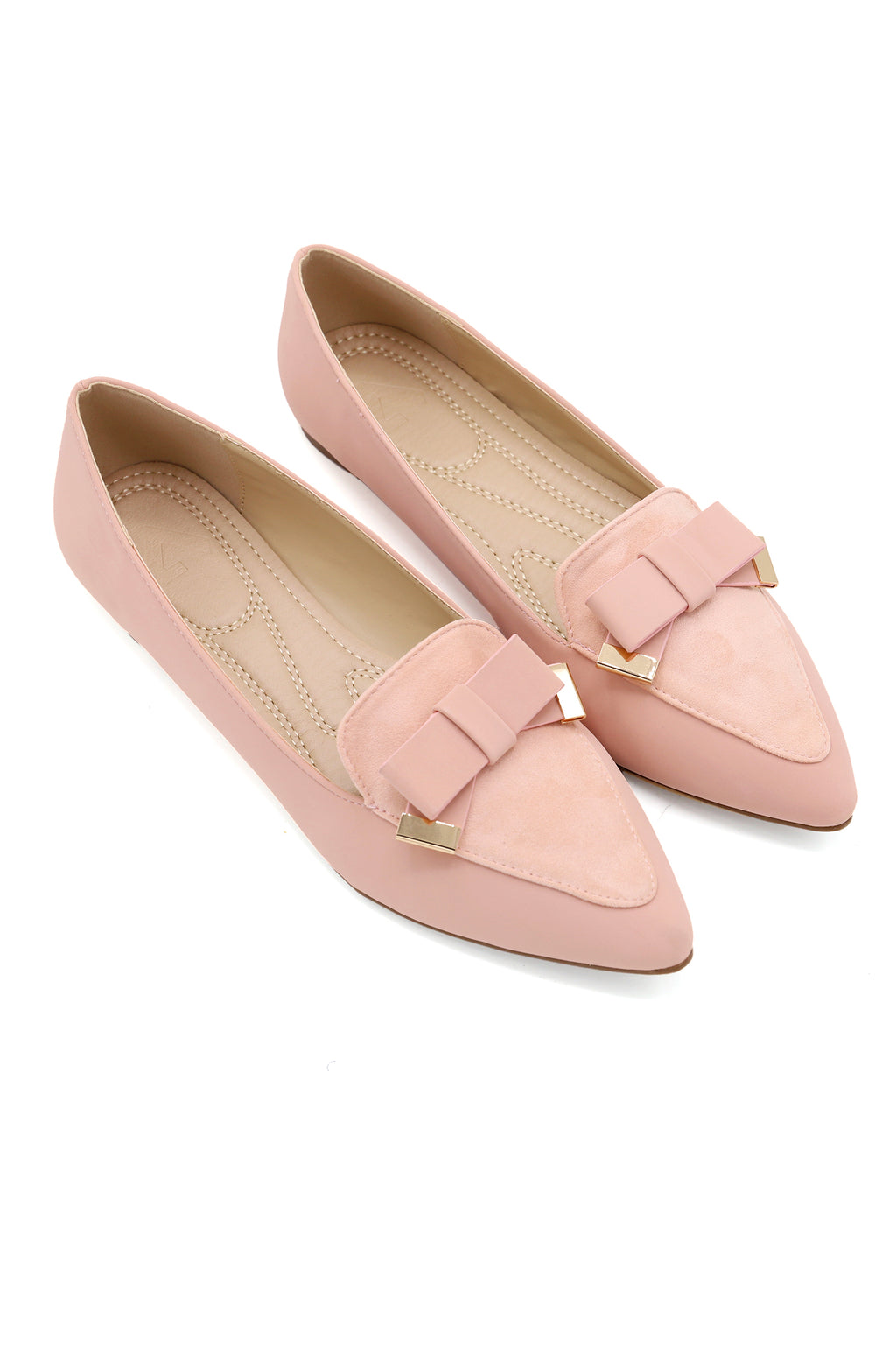 BOW PUMPS-PINK