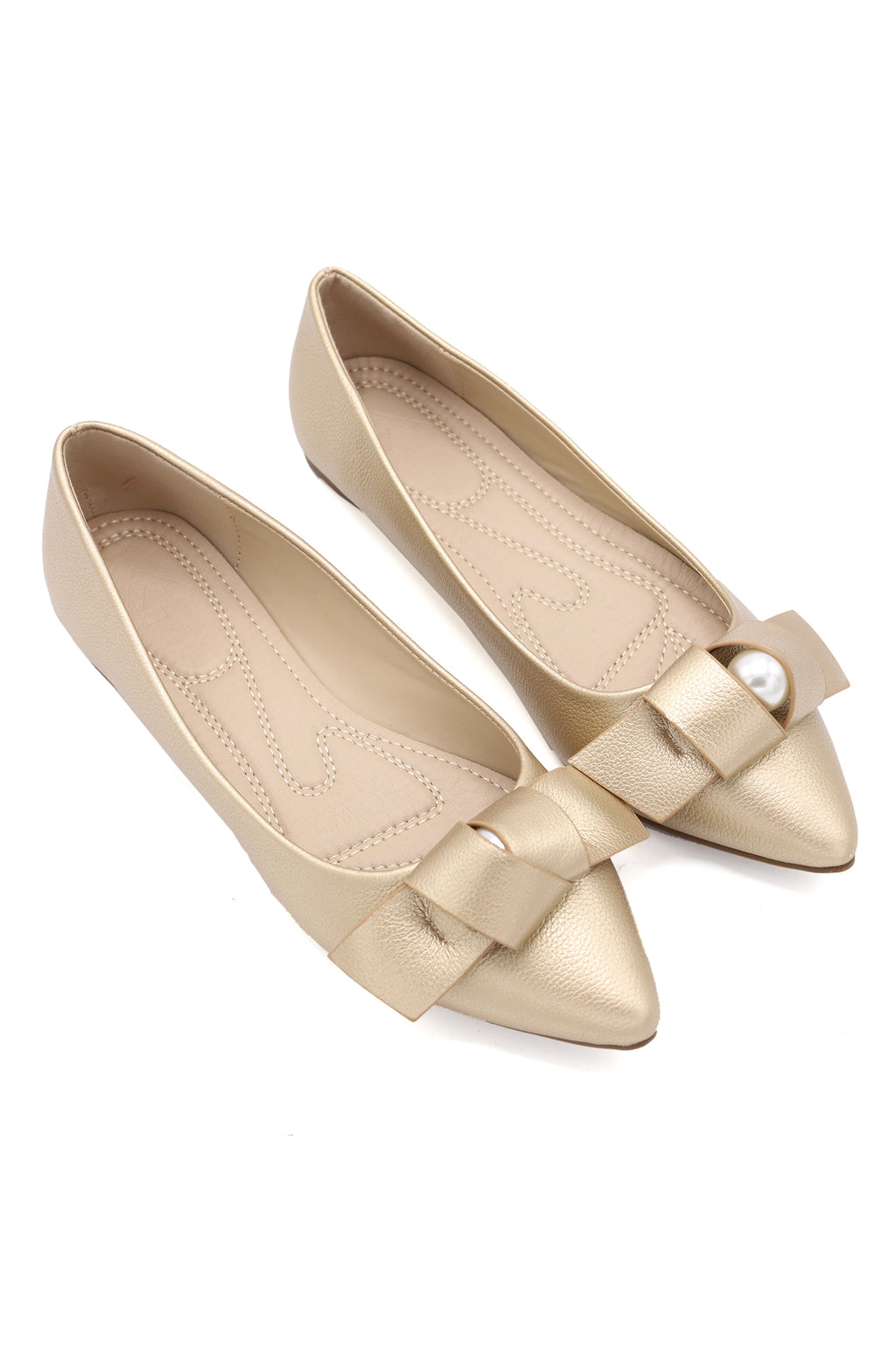 AURA FLATS-LIGHT GOLD