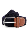 FABRIC BELT-BLUE