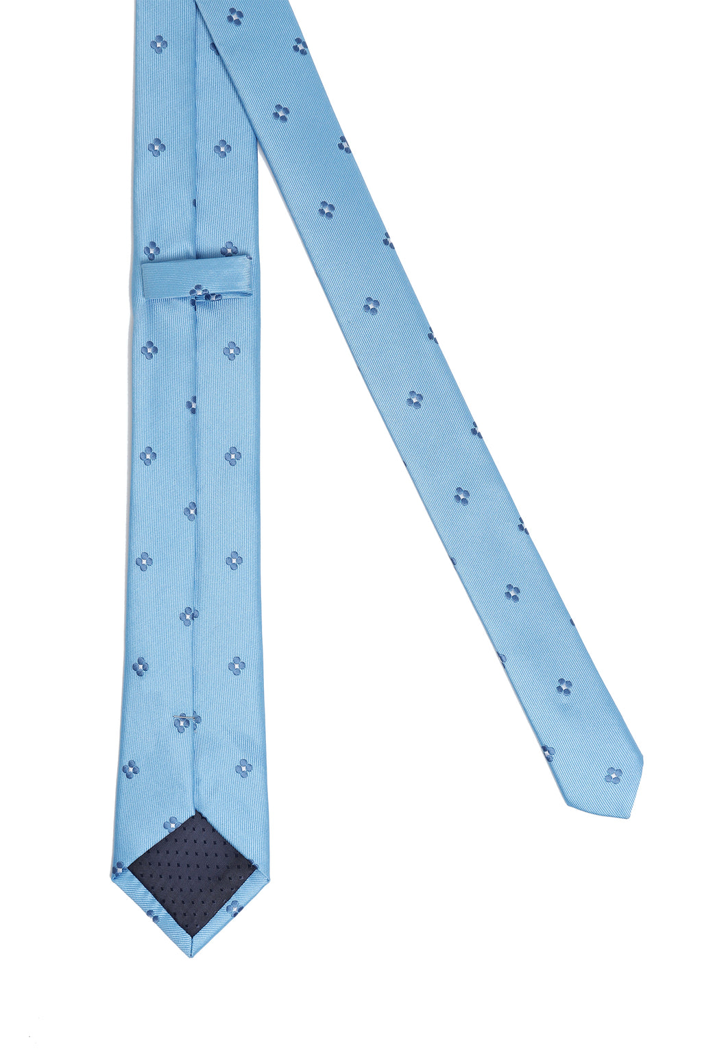 DAISY TIE-LIGHT-BLUE