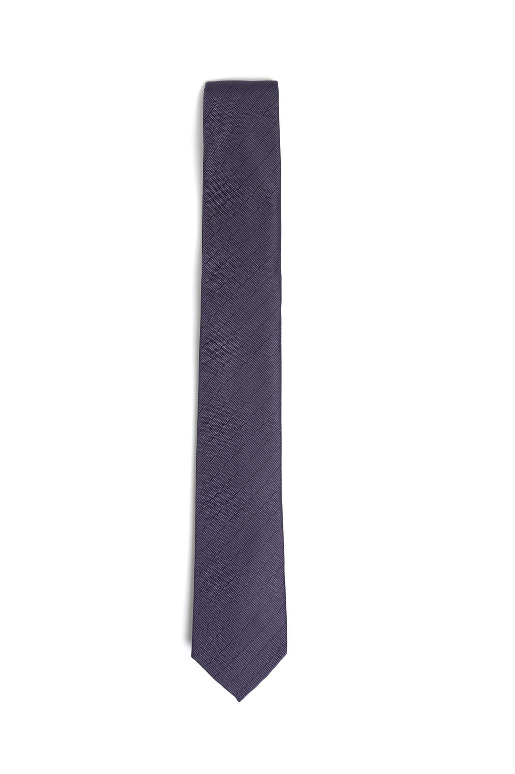 TWILL TEXTURED TIE-LIGHT-PURPLE