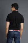 BASIC POLO SHIRT-BLACK
