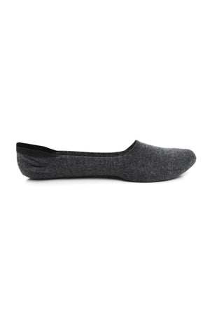 NO SH0W SOCKS-DARK GREY