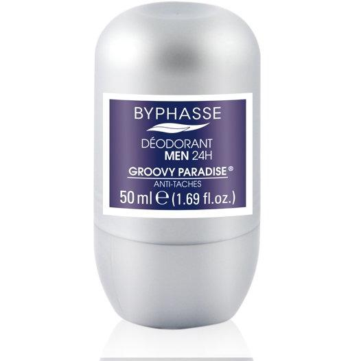 24h Men Deodorant Groovy Paradise (Roll-On) - Crystal Cosmetics e-Store