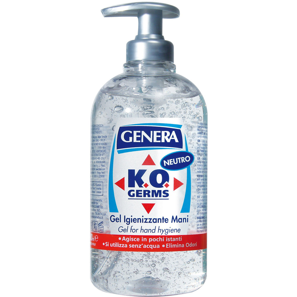 KO Germs Gel for Hands Hygiene Neutral 500 ml - Crystal Cosmetics e-Store