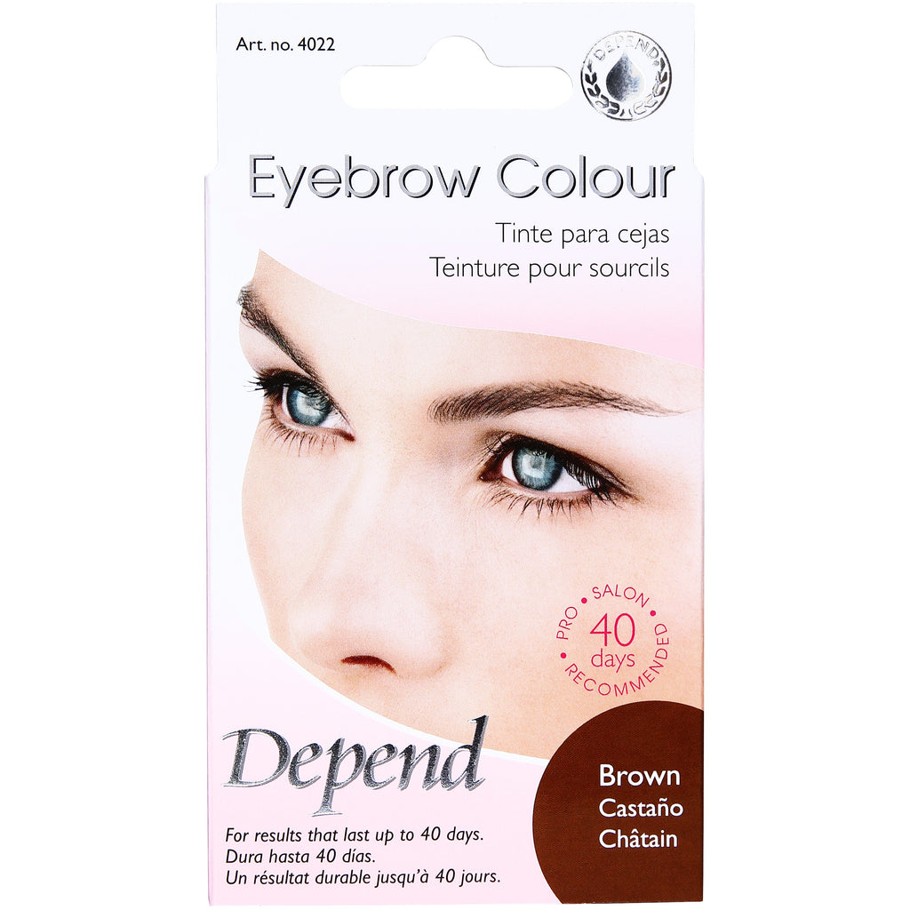 Eyebrow Colour Brown - Crystal Cosmetics e-Store