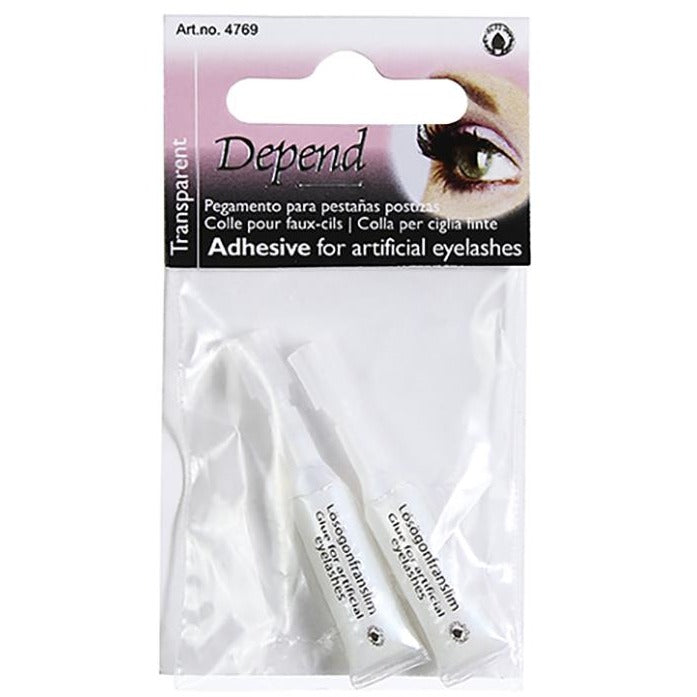Adhesive For Artificial Eyelashes Transparent - Crystal Cosmetics e-Store