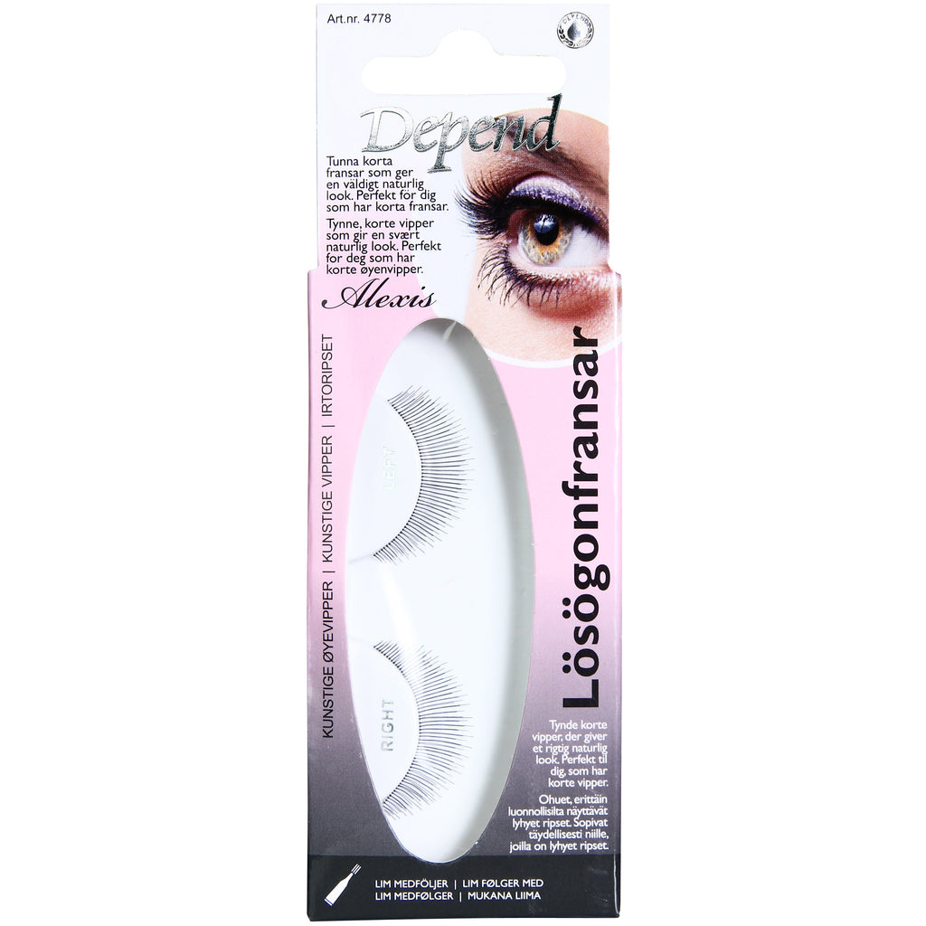 Artificial Eyelashes Alexis - Crystal Cosmetics e-Store